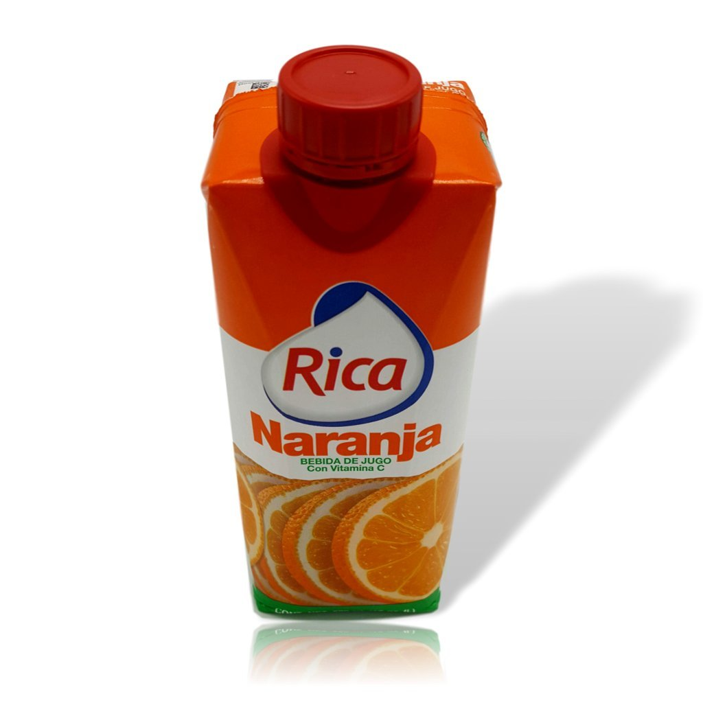 Amazon.com : Orange Juice Drink 1/2 Lt Jugo de Naranja Rica 500 Ml (4 Pack) : Grocery & Gourmet Food