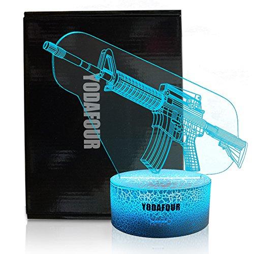 remote gun lamp - 1
