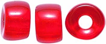 Preciosa Ornela Traditional Czech Glass Crow 50-Piece Beads 9mm Opaque Dark Yellow