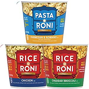 Rice a Roni Cups, Individual Cup 2.25 Ounce, pack of 12
