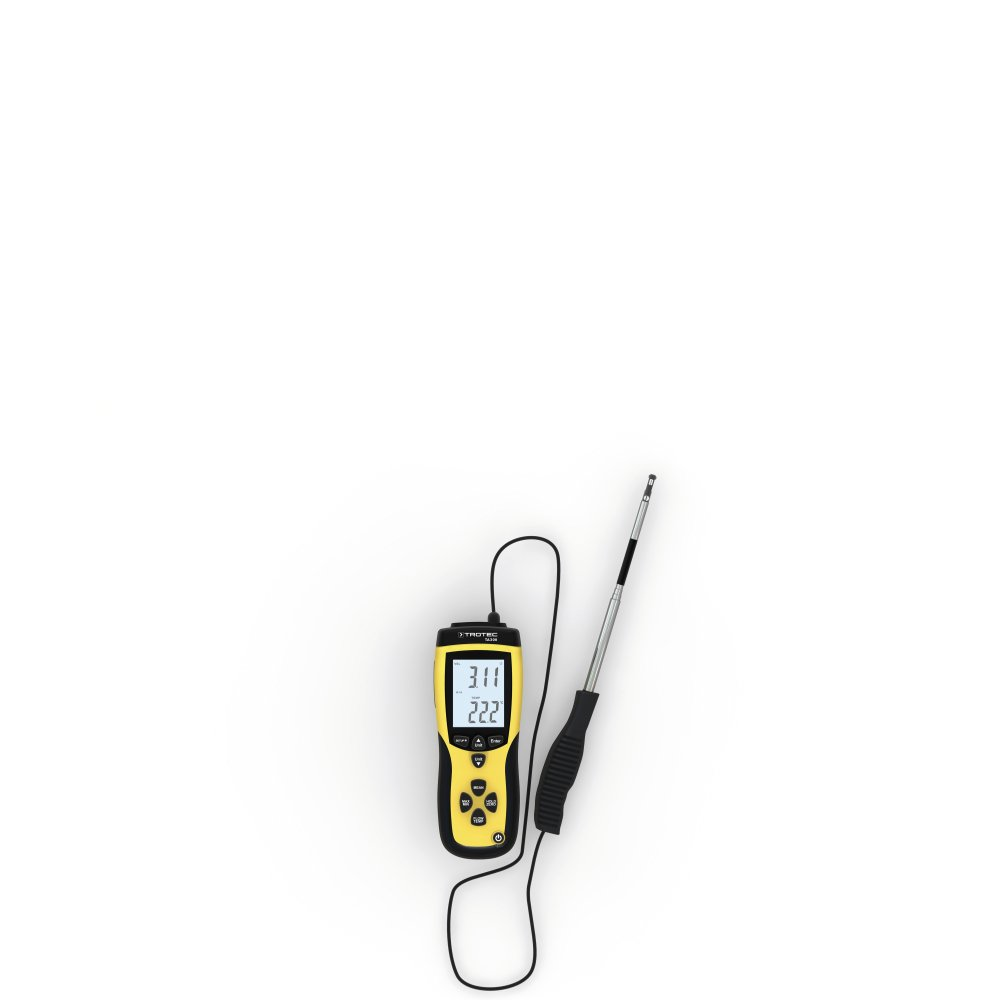 TROTEC 3510004005 – ANEMOMETER Ta 300 Straight Probe with Calibration Certificate