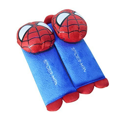 Amazon.com: CJB – Spiderman funda de cinturón de asiento de ...