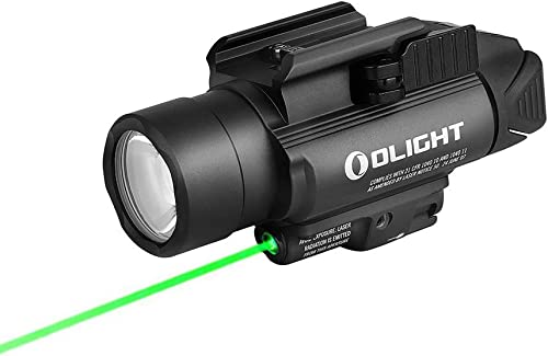 OLIGHT Baldr Pro 1350 Lumens Tactical Weaponlight with Green Light and White LED