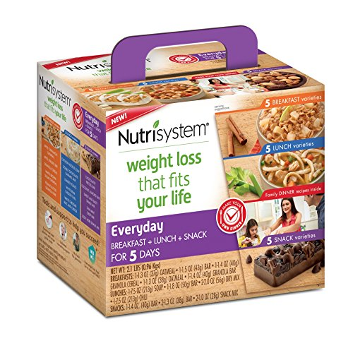 Nutrisystem  Everyday 5 Day Weight Loss Kit  1