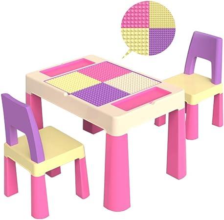 Folding table and chair Juego De Mesa Y Silla para NiñOs, Mesa De Juego De Juguetes