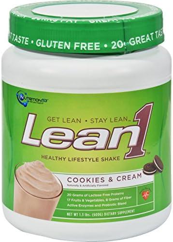 Lean1 Shake Cookies Creme 1.30 Pound