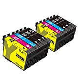 E-jet Remanufactured Epson 252 XL 252XL ink cartridge for Epson Wf-7710 Wf-7720 Wf-3620 Wf-3640 Wf-7210 Wf-7610 Wf-3630 Wf-7620 Wf-7110 Printers (12 Pack)