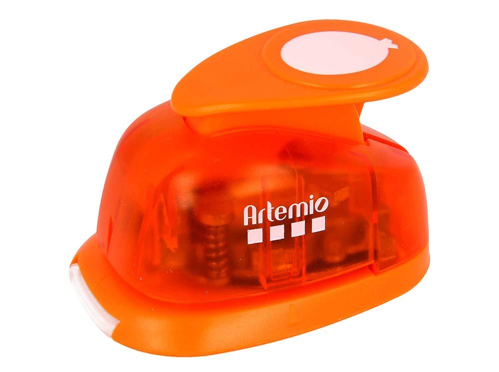 Artemio 2.5 cm Big Balloon Number 1 Lever Punch, Orange VIHCP222