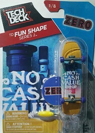 三角形必要とする肖像画2016 Tech Deck TD Fun Shape Series 2 [1/8] - ZERO No Cash Value Finger Skateboard with Display Stand [Floral] [並行輸入品]
