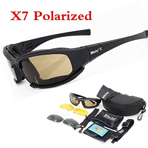 8ef843f395 ShopyStore X7 Polarized Fs X7 Tactical Fs C5 Glasses Military Goggles Army  Unisex Sunglasses (SHSELCYC3013)  Amazon.in  Clothing   Accessories