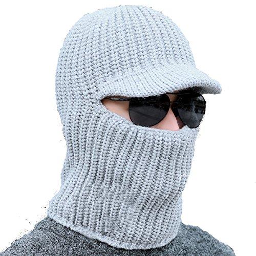 Sombrero De Bombardero Cálido De Invierno Para Hombre Unisex Para Esquiar Sobre Hielo Senderismo SombrerosHat A Prueba De Viento Mantener Caliente Mientras gris