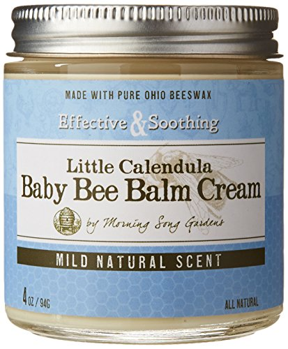 Baby Bee Balm Cream Mild Natural Scent, Little Calendula, 4 oz