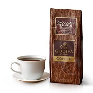 Godiva Chocolatier Chocolate Truffle, Coffee