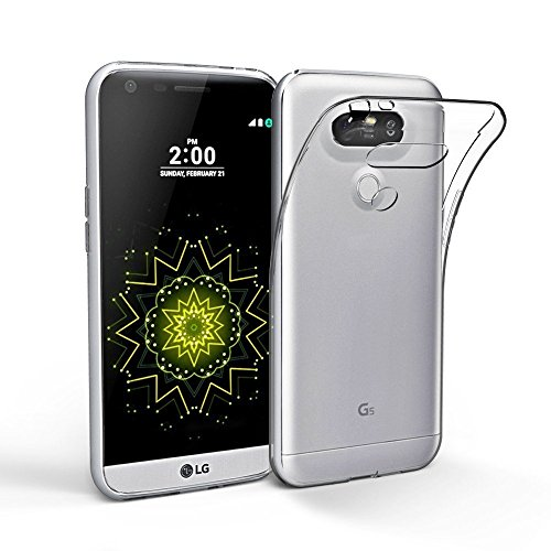 LG G6 Hülle, Acelive Transparent TPU Silikon Handyhülle Schutzhülle Case für LG G6
