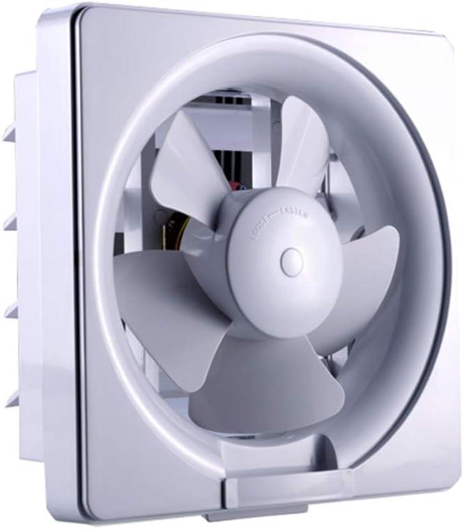 195 mm Estándar Ventilador Silencioso de un Extractor de baño Cocina Restaurante/Velocidad del Flujo de Aire: 300m³ / h – Color Blanco Brillante (30w),Lfw15a