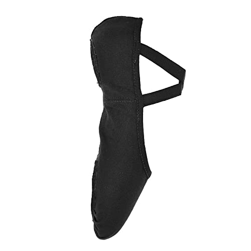 So Danca SD16 Black Stretch Canvas Ballet 10.5 s B Fitting td91M
