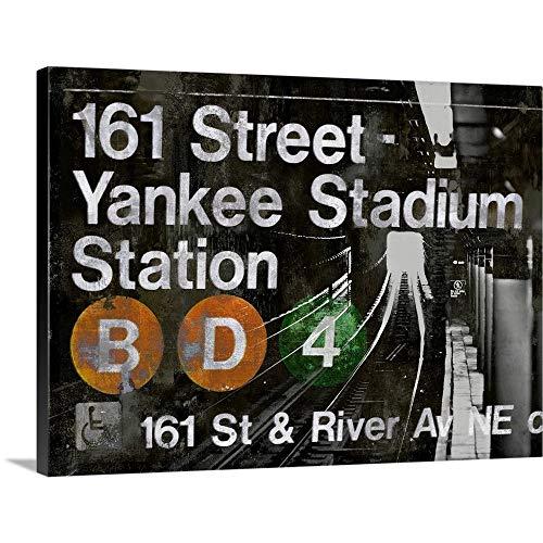 - NYC Subway Station II Canvas Wall Art Print, 40