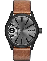 Men's DZ1764 Rasp Brown Leather Watch