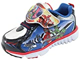 Power Rangers Train Force Boys Light up Blue Black Silver Shoes (Parallel Import/Generic Product) (11 M US Little Kid)