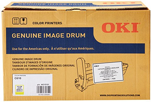 Oki Yellow Image Drum, 20000 Yield (44315101)