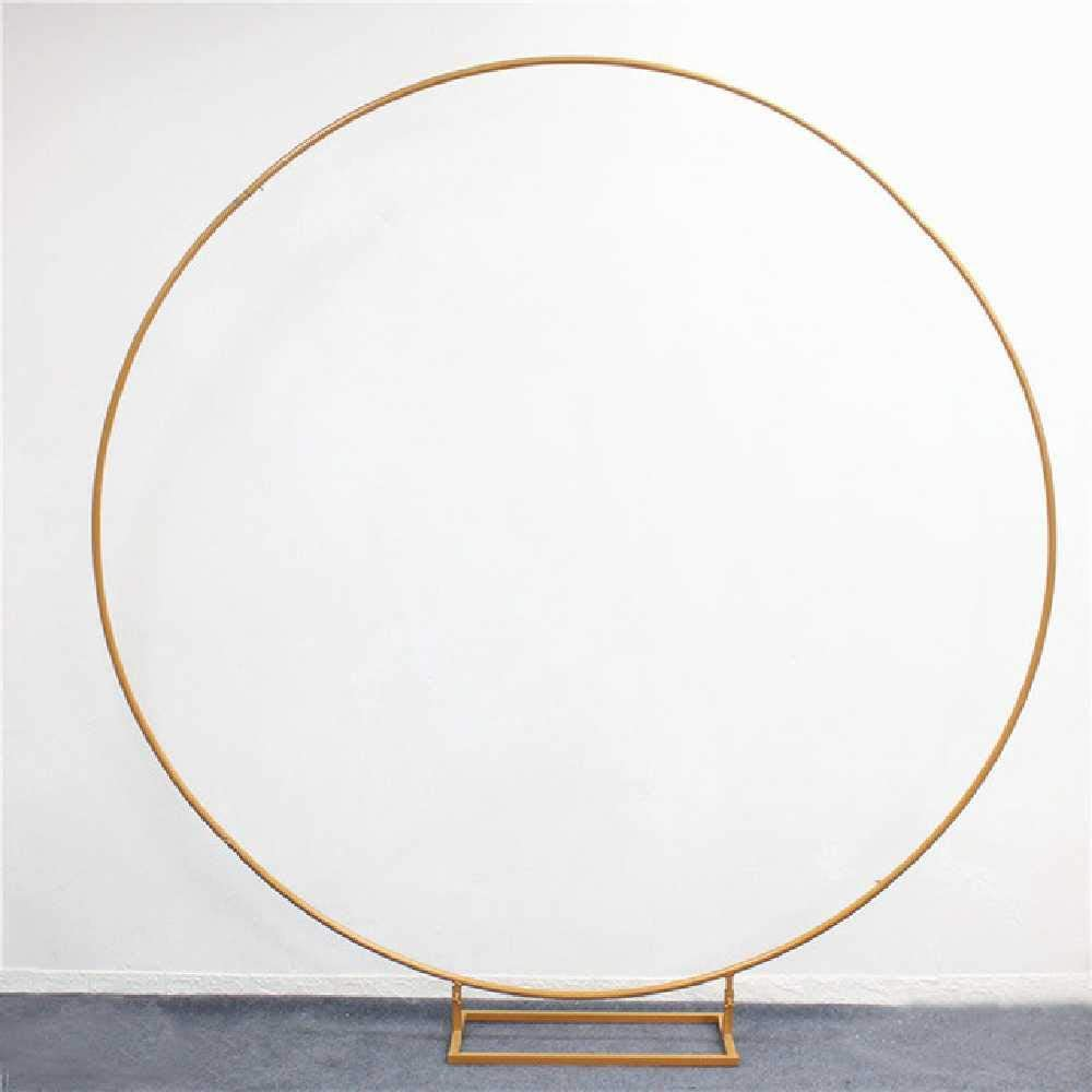 BDFH Arri/ère-Plan Circle Arch Flower Outdoor pour Door Road Leading Birthday Party 1 m//Style A Blanc