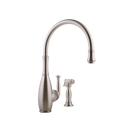 Graff G-4805-SN Duxbury Kitchen Faucet with Side Spray ...