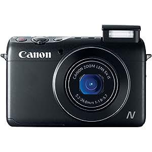 Canon PowerShot N100 HS 12.1MP Digital Camera - Wi-Fi Enabled (Black)