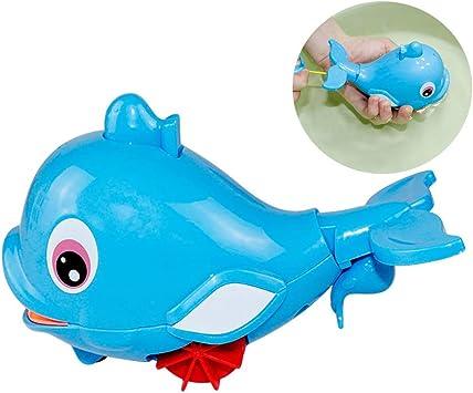 Baden Pool Spielen Gegen Lustige Delphin Baby Wasser Spaß