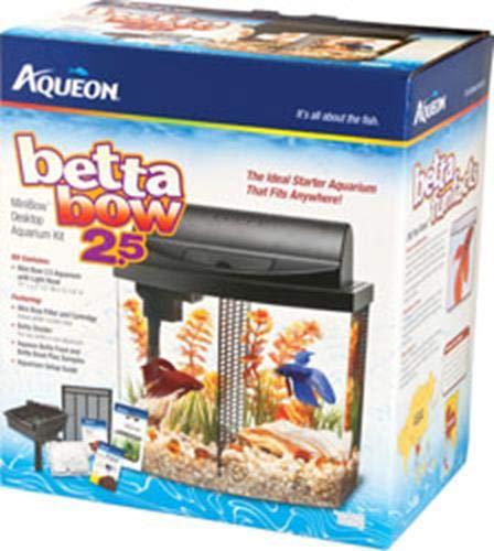 Aqueon Betta Bow LED Fish Aquarium Kit