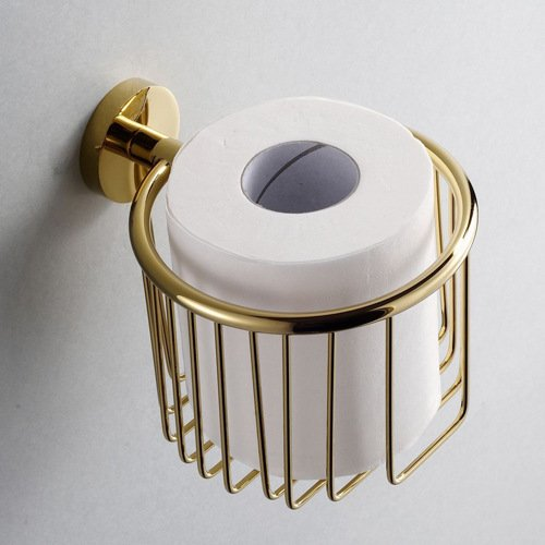 IYUEGO Gold Bathroom Accessories Brass Toilet Paper Holder outlet
