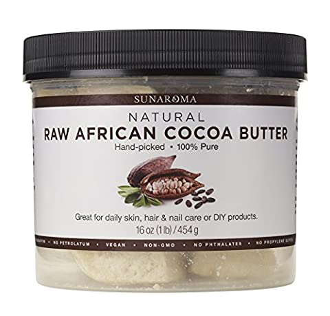 Sunaroma Body Butters for Skin and Hair (Cocoa Butter) - Base Semi Solid Oil