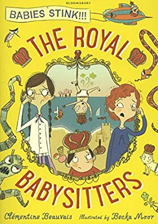 book cover of The Royal Babysitters