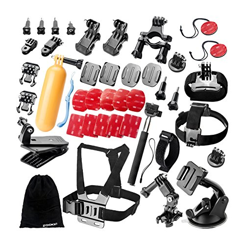 Zookki Outdoor Sports Accessories Kit for GoPro...