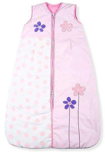 Sacos de Dormir para Bebé, Flores Lindas, Kiddy Kaboosh Varios Tamaños, Ligero,