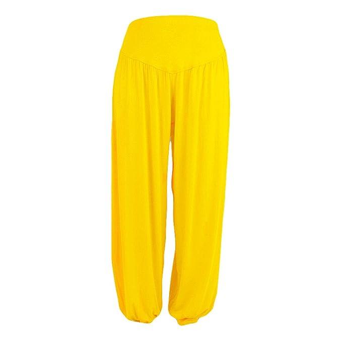 LEvifun ❤️ Mujer Pantalones de Yoga Pantalones Deportivos ...