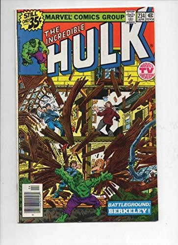 HULK #234, VF+, Incredible, Bruce Banner, Quasar, 1968 1979, Marvel