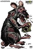 Birchwood Casey Darkotic Drain Pipe Splatter Target (12 x 18, Pack of 8)