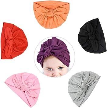 YeahiBaby 6pcs Sombreros y gorras para bebé,Abrigo de cabeza ...