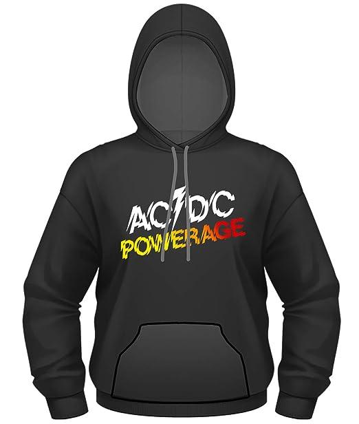 AC/DC - Powerage - Oficial Sudadera para Hombre: Amazon.es: Ropa y accesorios