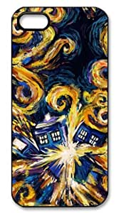 Creative Doctor Who Tardis Starry Night Hard Case for Apple Iphone 5/5S Caseiphone 5-132