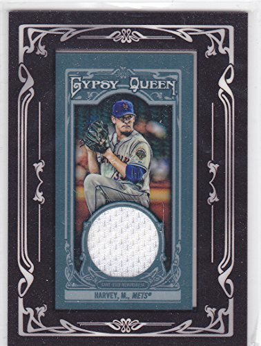 2013 TOPPS GYPSY QUEEN MATT HARVEY JERSEY METS
