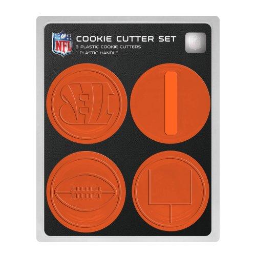 NFL Cincinnati Bengals Officially Licensed Set of Cookie Cutters