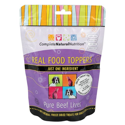 Pure Beef Liver Real Food Toppers 4oz. Review