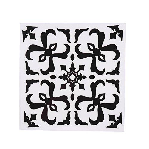 MYEDO Durable Ceramic Tile PVC Floor DIY Self-adhensive Waterproof Wall Sticker Wall Stickers