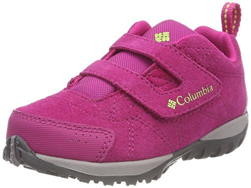Columbia Mädchen Childrens Venture Trekking-& Wanderhalbschuhe Pink (Haute Pink, Napa Green)
