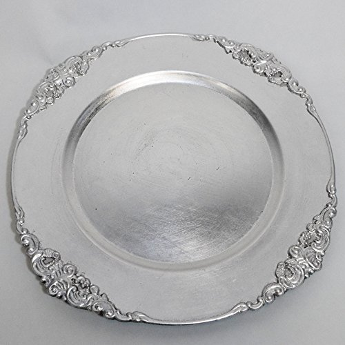 Quasimoon Silver Charger Medieval PaperLanternStore