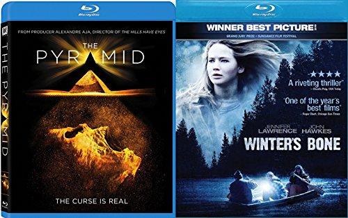 Winter's Bone + The Pyramid 2 Pack Drama Thriller Horror Movie Set