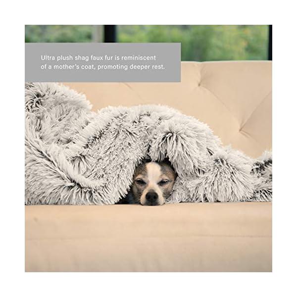 Best Friends by Sheri The Original Calming Shag Vegan Fur Donut Cuddler (Multiple Sizes) 5