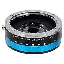 Fotodiox Pro Lens Mount Adapter w/Aperture Iris, EOS EF Lens to Micro Four Thirds (MFT) Camera e.g. Panasonic Lumix & BMPCC