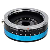 Fotodiox Pro Lens Mount Adapter - Canon EOS EF Lens (NOT EF-S Lens) D/SLR Lens to Micro Four Thirds (MFT, M4/3) Mount Mirrorless Camera Body, with Built-In Aperture Iris